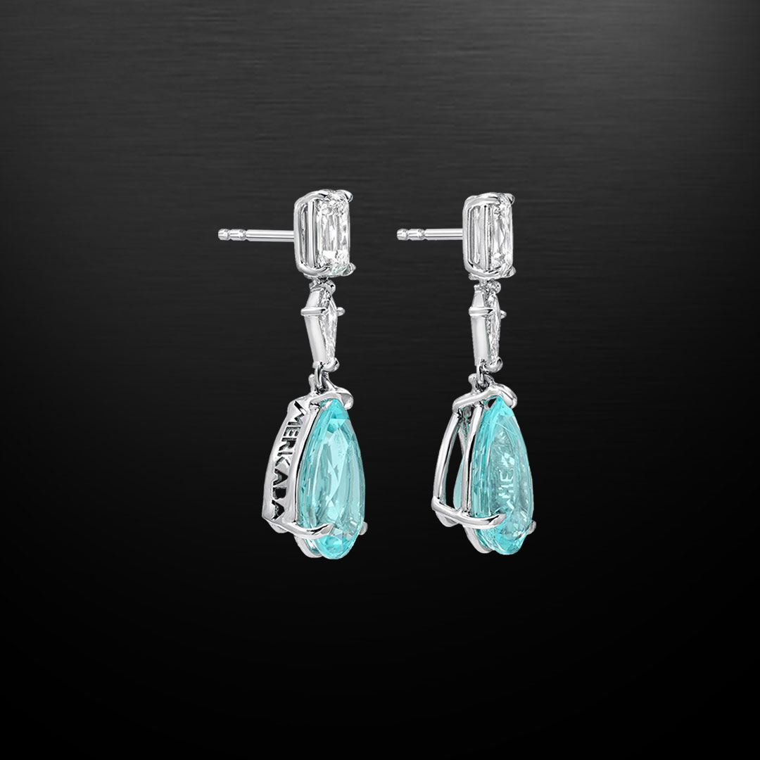 Paraiba Tourmaline Earrings